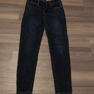 Dark was American eagle jeans